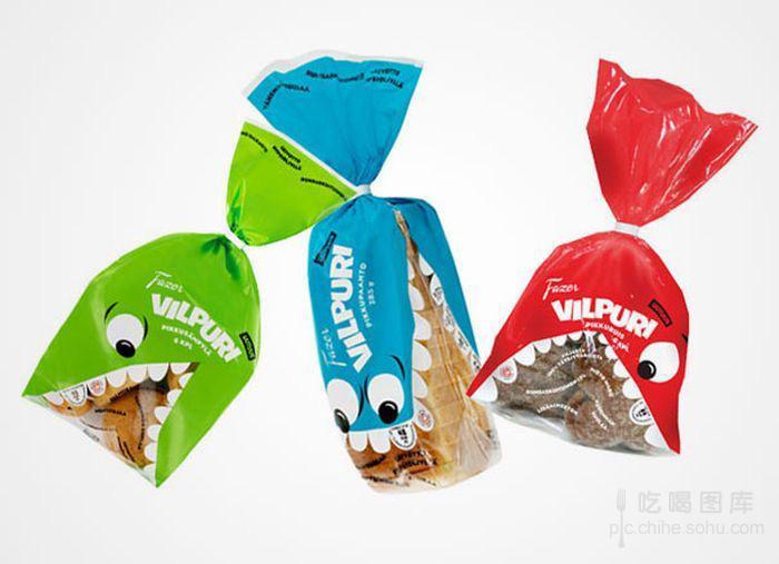 创意设计:食品包装也要足够创意才能吸引眼球 像腹肌一样的面包