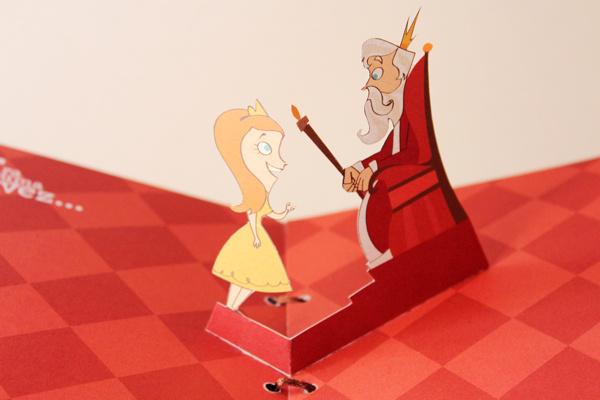 迷你奇趣童话书 关于公主和城堡的故事