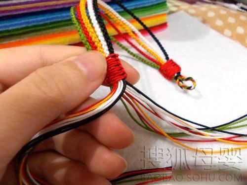 五彩绳制作步骤