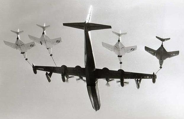 世界飞机空中加油发展史