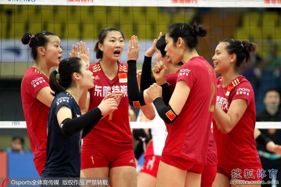 日本人体艺术1图片_亚锦赛-惠若琪休战张常宁首发 女排3-0日本二队