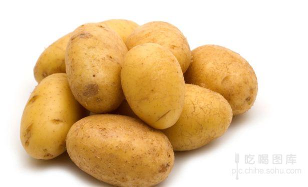 土豆简笔画 彩色
