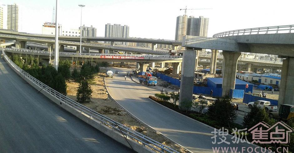 太原雄美北中环涧河路立交桥7394498