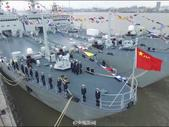 1月12日,新型坦克登陆舰天目山舰入列命名授旗仪式在东海舰队军港举行。天目山舰长119.5米,型宽1...