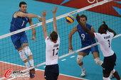 北京时间2012年8月7日,2012年伦敦奥运会男子排球小组赛,英国0:3负阿根廷。更多奥运视频>>...