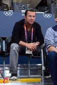 2012年8月2日,伦敦奥运会男排小组赛,德国3:2胜塞尔维亚,马特乌斯观战。 更多奥运视频>> ...