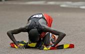 北京时间8月12日晚,2012年伦敦奥运会进入最后一个比赛日争夺。在男子马拉松角逐中,乌干达选手基普...