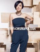 搜狐娱乐讯 始终秉持着高端、知性风格的跨界名人Kelly查可欣,近日为《时尚COSMO》杂志拍摄大片...