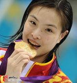 2012年8月6日,在伦敦奥运会3米板决赛中,吴敏霞以414分的总成绩拿到了此项比赛的金牌,何姿获得...