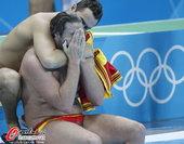 北京时间2012年8月9日,2012年伦敦奥运会男子水球1/4决赛:西班牙9:11负黑山。更多奥运视...