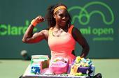 4月1日在迈阿密网球大师赛女单四分之一决赛中,美国选手小威廉姆斯以2比1战胜德国选手利斯基,晋级半决...