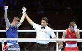 2012年8月12日,伦敦奥运会男子拳击56公斤级决赛,英国选手坎贝尔夺金。更多奥运视频>> 更多奥...