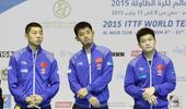 当地时间1月10日下午,2015乒乓球团体世界杯进入到男团半决赛的争夺。由张继科、许昕和樊振东领衔的...