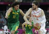 北京时间8月6日,伦敦奥运会男篮小组赛进行了最后一轮的较量,B组的西班牙遭遇巴西。虽然保罗-加索尔砍...