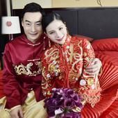 6月25日,何姿秦凯大婚,有情人终成眷属。