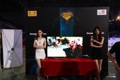 中国智能手机运动会-3D打印和谷歌眼镜展台