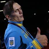 北京时间8月12日,2012伦敦奥运会拳击男子91公斤级决赛,乌克兰选手奥莱克桑德-乌塞克14-11...