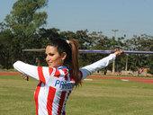 北京时间7月20日,巴拉圭奥运田径队明星标枪选手莱琳-弗朗哥(Leryn Franco)备战即将到来...