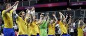 北京时间8月9日,2012年伦敦奥运会男子手球1/4决赛,瑞典24-22战胜丹麦。更多奥运视频>> ...