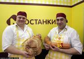 当地时间2015年2月9日,俄罗斯莫斯科,第22届俄罗斯国际食品展当日拉开帷幕。作为俄罗斯及世界最高...