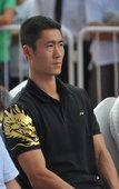 """2012年8月4日,北京,前乒乓球奥运冠军王励勤出席了""""为中国加油,为母亲喝彩""""主题活动。在现场,王..."""