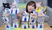 据英国《每日邮报》12月13日报道,日本著名的大胃王,身躯娇小的子木下优香(Kinoshita Y...