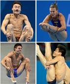 跳水比赛上,当大多数人的目光都集中在金牌上时,其他一些人正为一些更加有趣的事情津津乐道。更多奥运视频...