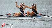 北京时间2012年8月2日,2012年伦敦奥运会赛艇男子双人双桨决赛,新西兰组合夺得金牌。更多奥运视...
