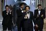 72届金球颁奖现场:电影类《少年时代》大胜