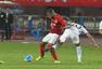 高清图:恒大1-0鹿岛 暴力鸟破门单膝跪地庆祝