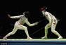 高清图:里约奥运女子花剑 乐慧林轻取对手晋级