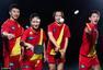 高清图:中国乒乓球队写真曝光 狂拽酷炫燃炸天