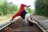 美超重瑜伽教练走红网络变身励志大师