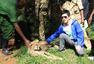 李健探访动物孤儿院 联合国倡导环保理念