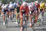 高清图:环福州自行车赛第二赛段 金可成夺冠军