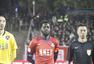 高清:梅州2-1爆冷胜卓尔 博季诺夫破门激情庆祝
