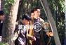 独家:陈伟霆张艺兴小树林拍打戏 小绵羊频笑场