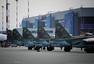 俄军赴华参加上合军演苏25米8机群曝光