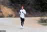 组图:贾斯汀-比伯外出跑步 大短裤秒变五五身