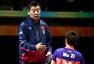 高清:木子资格赛4-0开门红 李隼指导表情严厉