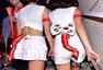 高清图:韩国女团炫舞给力助威 兔女郎PK九尾狐