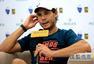 高清:纳达尔接受搜狐专访 西班牙天王淡淡微笑