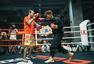 高清:邹市明备战WBO卫冕战  笑对记者认真训练