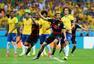 进球回放:巴西中路漏人 穆勒后点抽射打破僵局