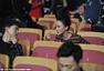 吴奇隆与刘诗诗贴面热聊 周迅与张杰耳语秀友情