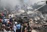 印尼一军机居民区坠毁 机上载113人