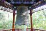北京大学文物遭破坏 百年校钟旁画涂鸦