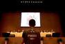高清图:国际乒联大会苏州举行 王励勤帅气出席
