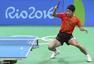 组图:男乒半决赛轻取韩国 张继科振臂怒吼庆祝