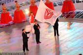 2009年10月28日,第十一届全运会圆满闭幕,会旗移交。 (全运精彩瞬间)(全运精彩专题)
